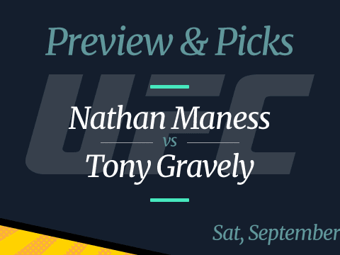 UFC Vegas 37: Nate Maness vs Tony Gravely Odds, Time and Date